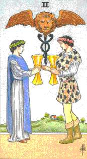 2 of Cups