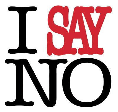 The Power To Say 'No'