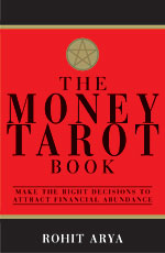 The Money Tarot Book by Rohit Arya